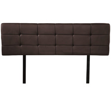Barocca Faux Leather Double Bedhead