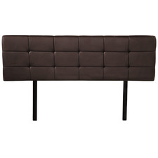 Barocca Faux Leather Queen Bedhead