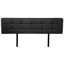 Barocca Faux Leather King  Bedhead