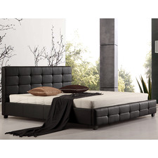 Remus Faux Leather King Bed Frame