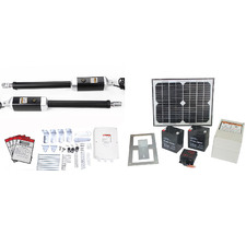 Northzale Solar-Powered Double Swing Automatic Gate Opener