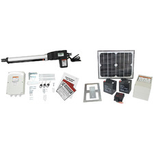 Greenholt Solar-Powered Single Swing Automatic Gate Opener