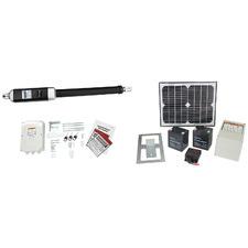 Zpower Solar-Powered Single Swing Automatic Gate Opener