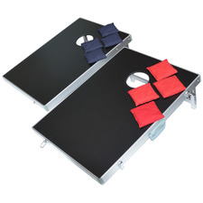 Leimback Bean Bag Toss Cornhole Game Set