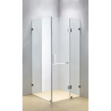 Elite Glass Shower Screen with Square Handle
