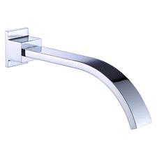 18cm Polished Chrome Bath Spout