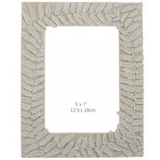 """Koru 5 x 7"""" Sandstone Photo Frame"""