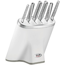 7 Piece White Zeitaku Shiro Knife Set