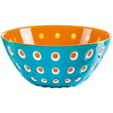 Orange & Sea Blue Le Murrine 25cm Serving Bowl
