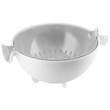 2 Piece Grey Colander & Bowl Set