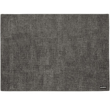 Grey Reversible Tiffany Faux Leather Placemat