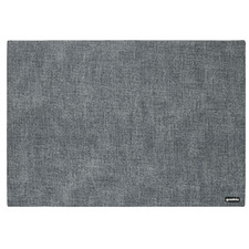 Sea Blue Reversible Tiffany Faux Leather Placemat (Set of 6)