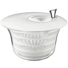 White My Kitchen Salad Spinner