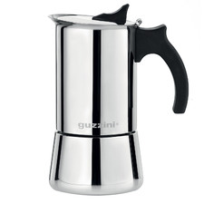 Guzzini Giulietta Induction Moka 354ml Stainless Steel Coffee Maker