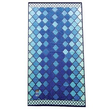Large Glowing Mosaic Beach Towel