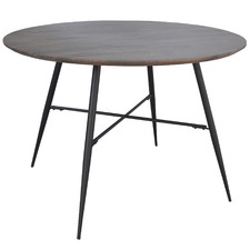 Mango Wood Lexington Round Dining Table