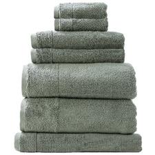 7 Piece Aireys Cotton Bathroom Towel Set