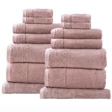 14 Piece Aireys Cotton Bathroom Towel Set