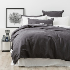 Magnet Cavallo Stone Washed Linen Quilt Cover Set