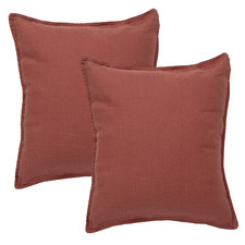 Cavallo Stone French Flax Linen Cushions (Set of 2)