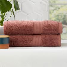 Marisse Bamboo & Cotton Bathroom Sheets (Set of 2)