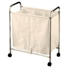 3 Divider Laundry Small Trolley