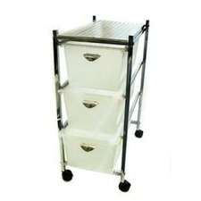 Slim Trolley with Drawers