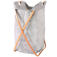 Butterfly Bamboo Collapsible Laundry Hamper