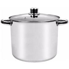 24cm Stainless Steel Stock Pot