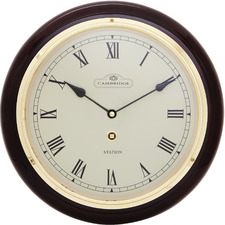 31.5cm Piano Paint Station Clock
