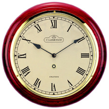 28.5cm Anthony Piano Paint Station Clock