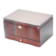 Dark Brown Cambridge Traditional Jewellery Box