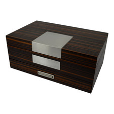 Walnut Cambridge Traditional Jewellery Box
