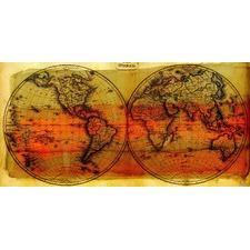 Globe Trotting Canvas Wall Art