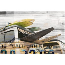 Cali Day Canvas Wall Art