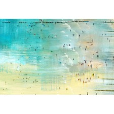 Specks in the Water Canvas Wall Art