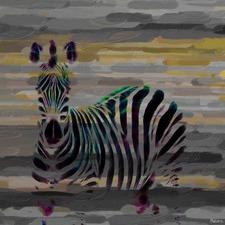 Stripes Art Print on Canvas
