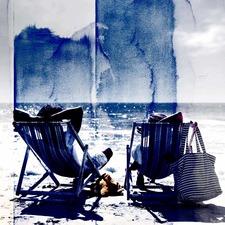 Life's a Beach Art Print on Canvas
