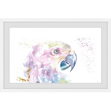 Parrot Colours Framed Printed Wall Art