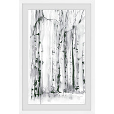 Woodland Patches Framed Printed Wall Art