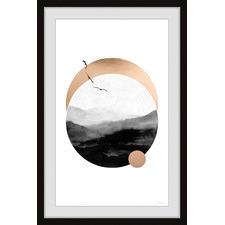 Birds Skyline Framed Printed Wall Art
