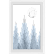 Mountain Sharp Framed Printed Wall Art