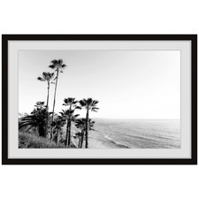 Hillside Blues II Framed Printed Wall Art