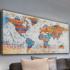 Warm World Canvas Wall Art