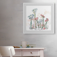 Clearly Blossoms Framed Printed Wall Art