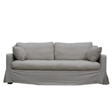 Kelly 3 Seater Linen Sofa