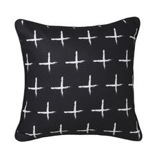 Black Cross Rio Cushion