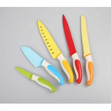5 Piece Non-Stick Coating Knife Set