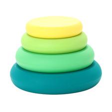 4 Piece Multi-Coloured Reusable Silicone Lids
