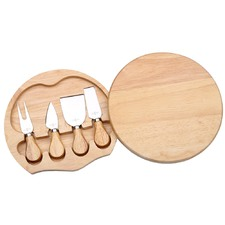4 Piece Small Cheese Knife & Board Set